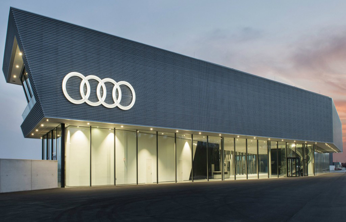 Audi Headquarters Photo
