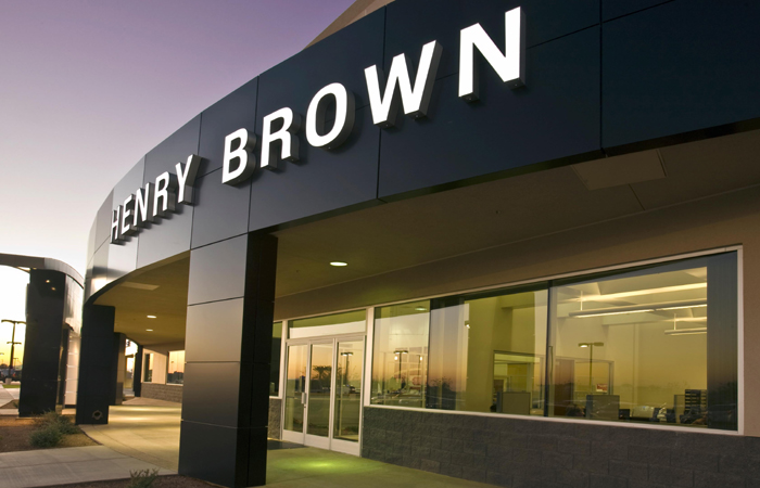 Henry Brown Buick Pontiac Gmc Headquarters Photo