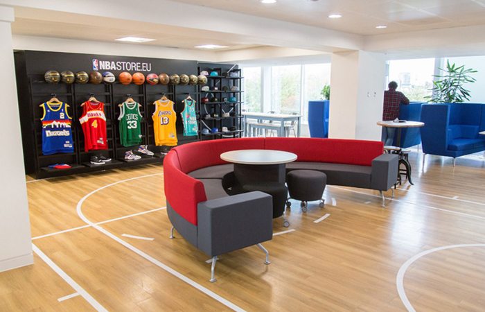 NBA Europe Headquarters Photo