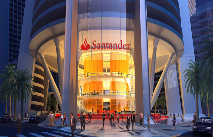 Santander Bank Headquarters Photo
