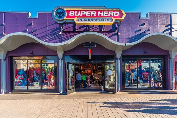 Superhero Corporate Office Photo