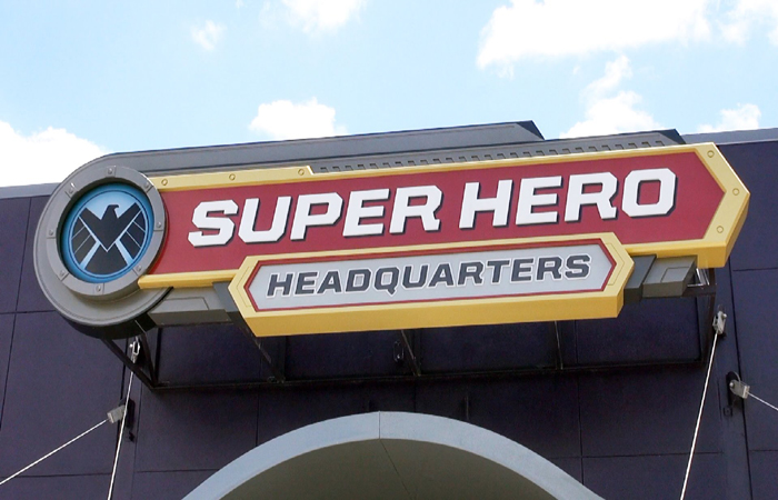 Superhero Headquarters Photo