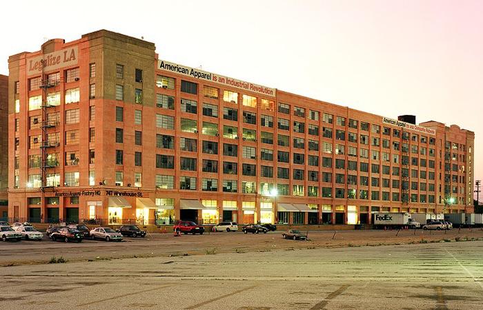 American Apparel Headquarters Photo