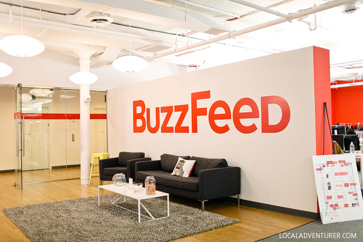 Buzzfeed Corporate NYC Office Photo