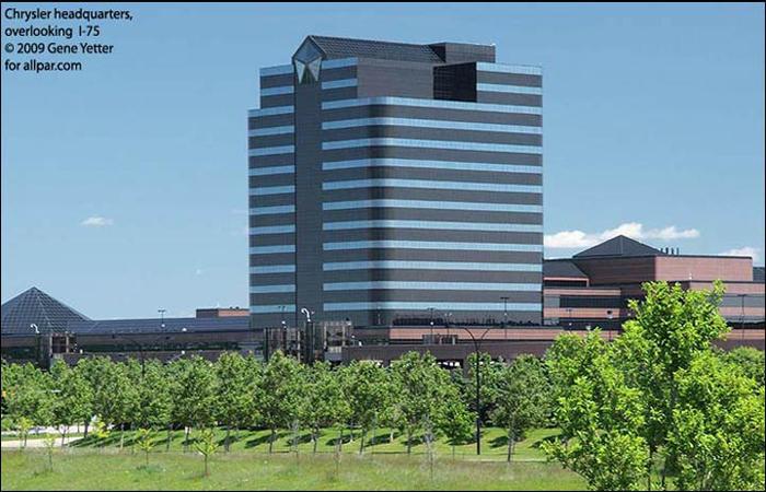 Chrysler Headquarters Photo