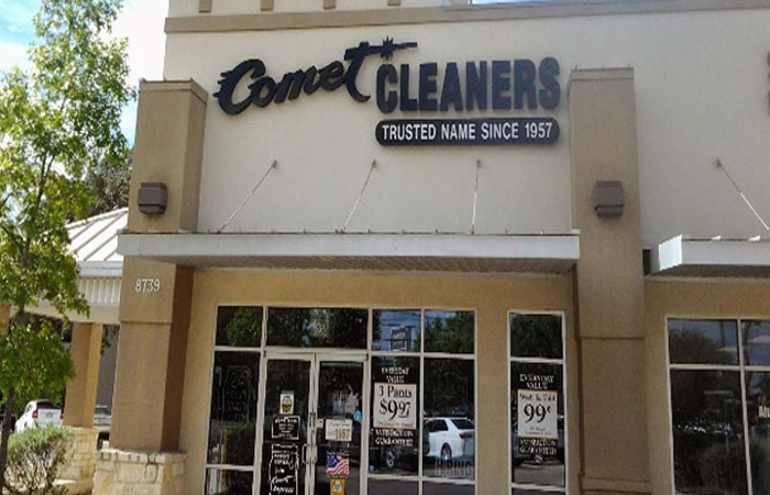 Comet Cleaners Headquarters Photo