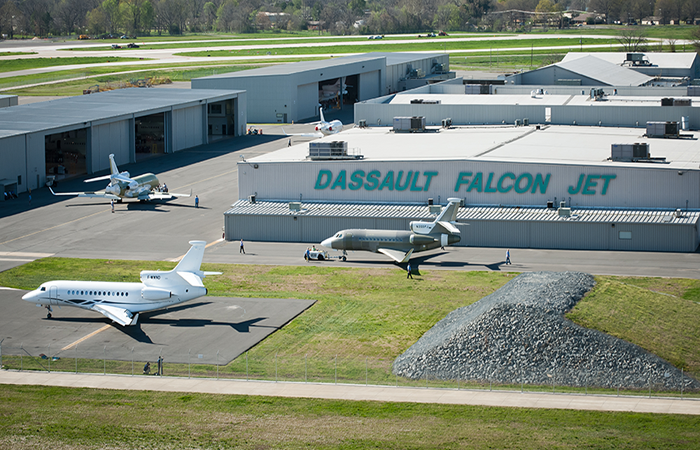 Dassault Falcon Jet Corp Corporate Office Photo