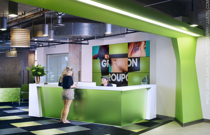 Groupon Corporate Office Photo
