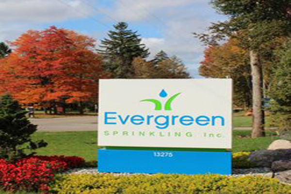 Evergreen Lawn Sprinklers Headquarters Photo