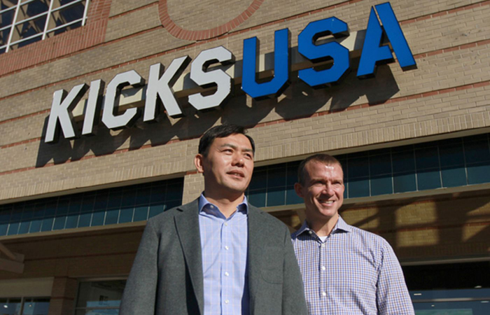 Kicks USA Corporate Office Photo