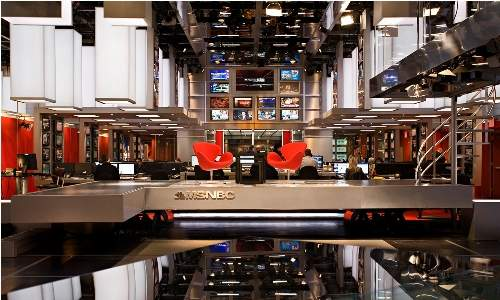 MSNBC Headquarters Photos