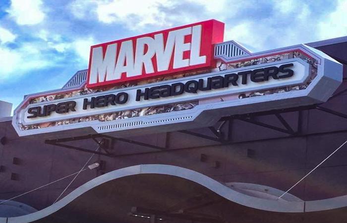 Marvel Headquarters Photo