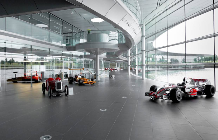 Mclaren Corporate Office Photo