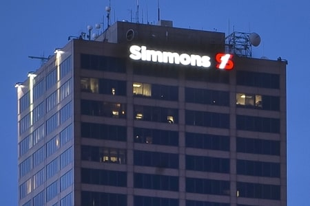 Simmons Bank Headquarters Photos