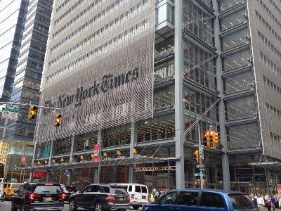 The New York Times Headquarters Photos