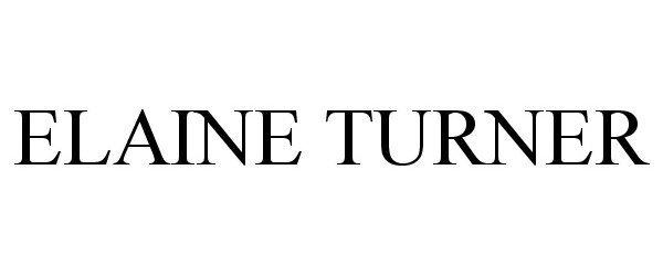 Elaine Turner Logo