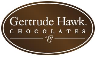 Gertrude Hawk Chocolates Logo
