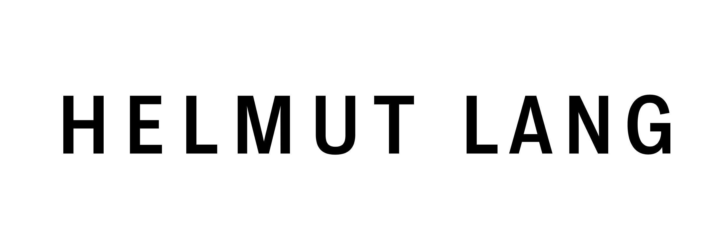 Helmut Lang Logo
