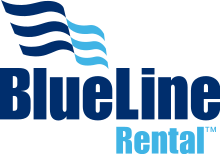 blueline rental logo